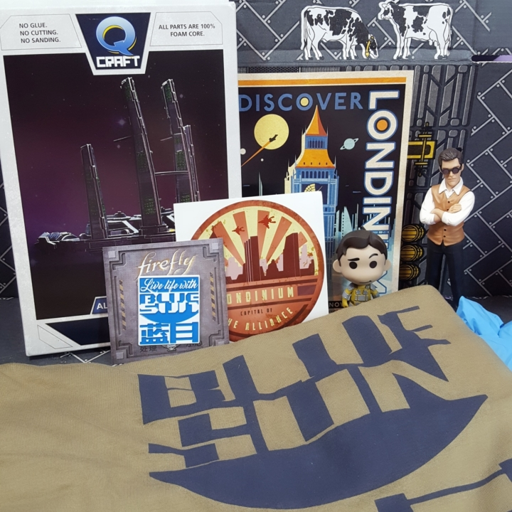 THE ALLIANCE LONDINIUM Travel Sticker Firefly Cargo Crate Loot Crate July 2017