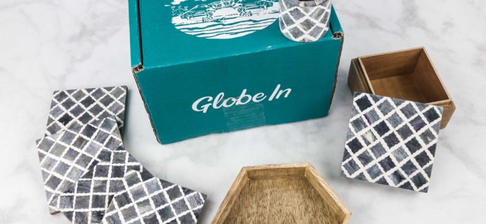 "August 2017 GlobeIn Artisan Box Club Subscription Box Review + Coupon – ""Accent"" Premium Box"