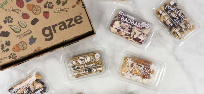 Graze Savory Box Review & Free Box Coupon – August 2017