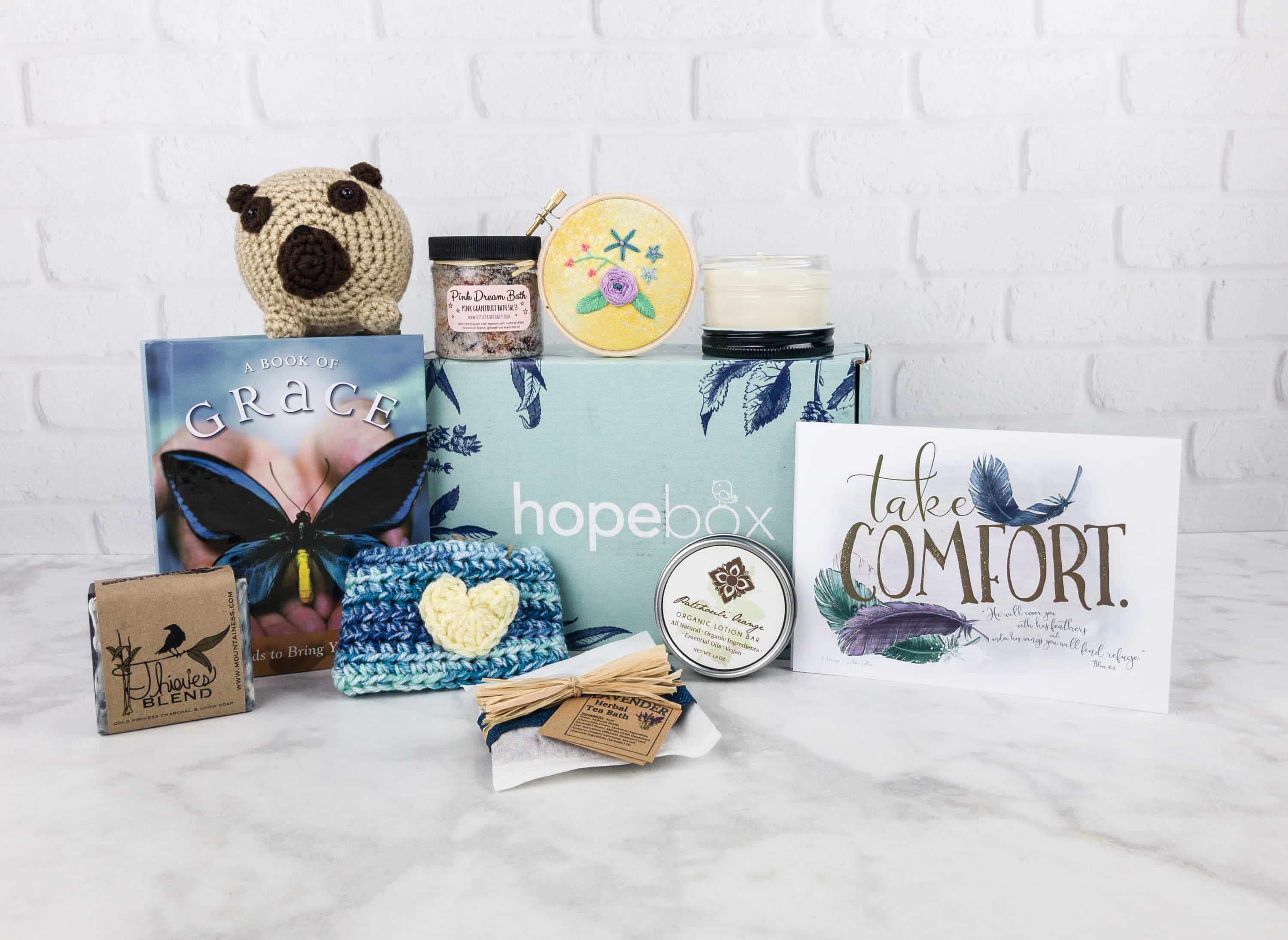 Hopebox July 2017 Subscription Box Review