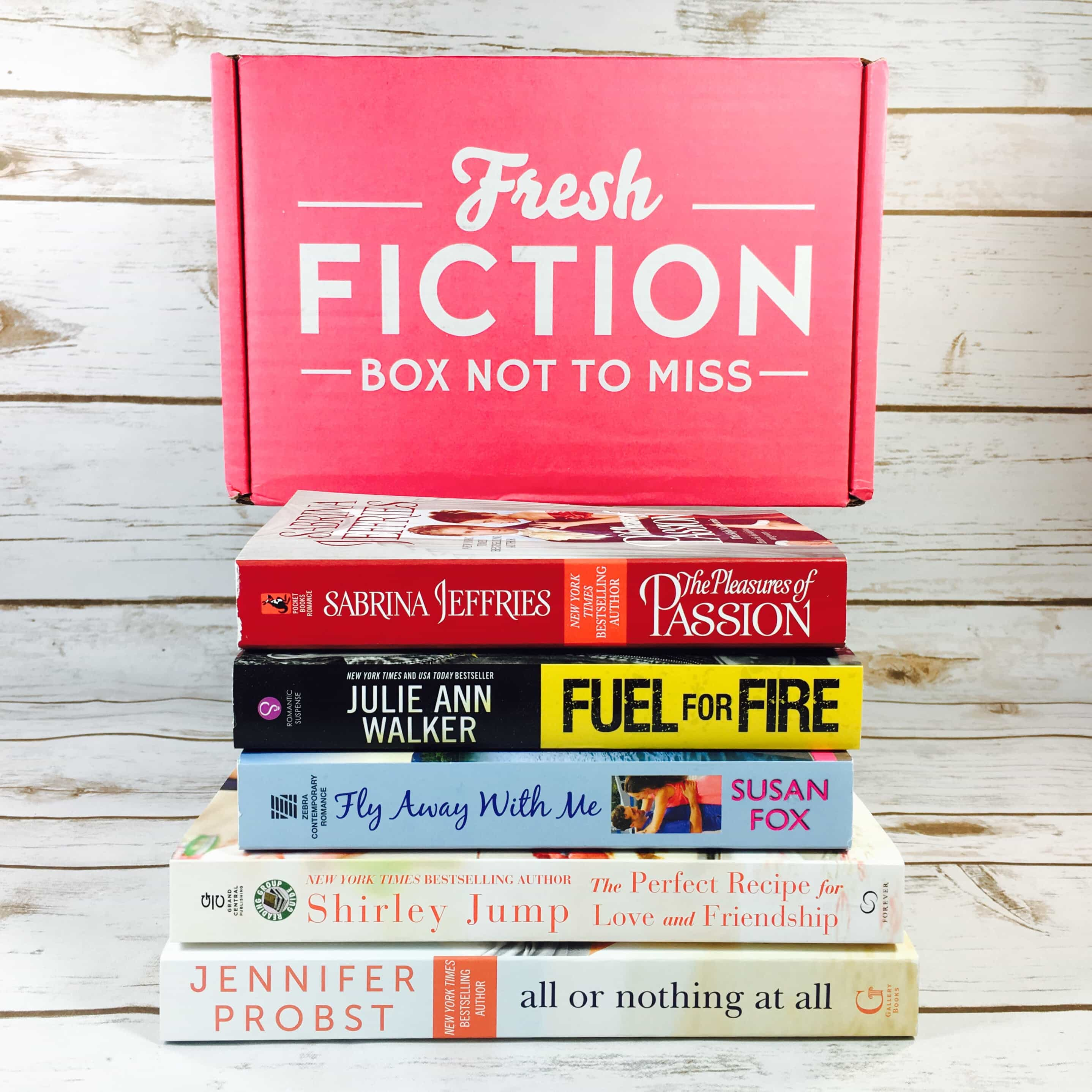 Fresh Fiction Box August 2017 Subscription Box Review + Coupon