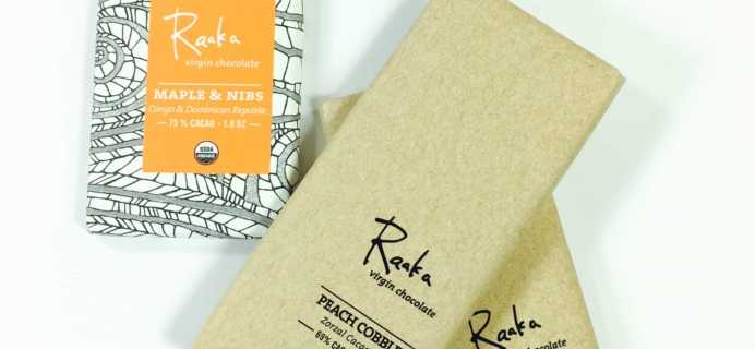First Nibs by Raaka Chocolate July 2017 Subscription Box Review + Coupon!