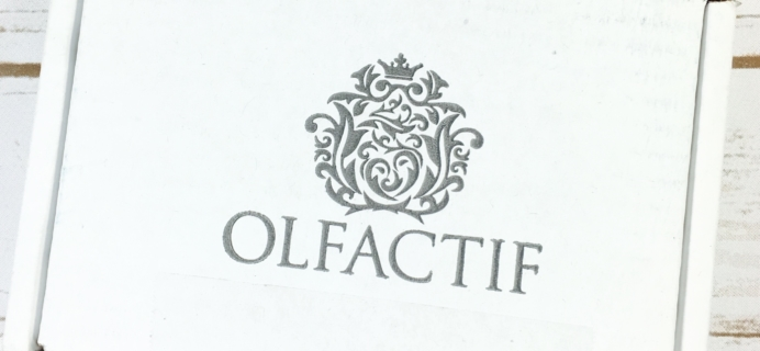 Olfactif August 2017 Subscription Box Review