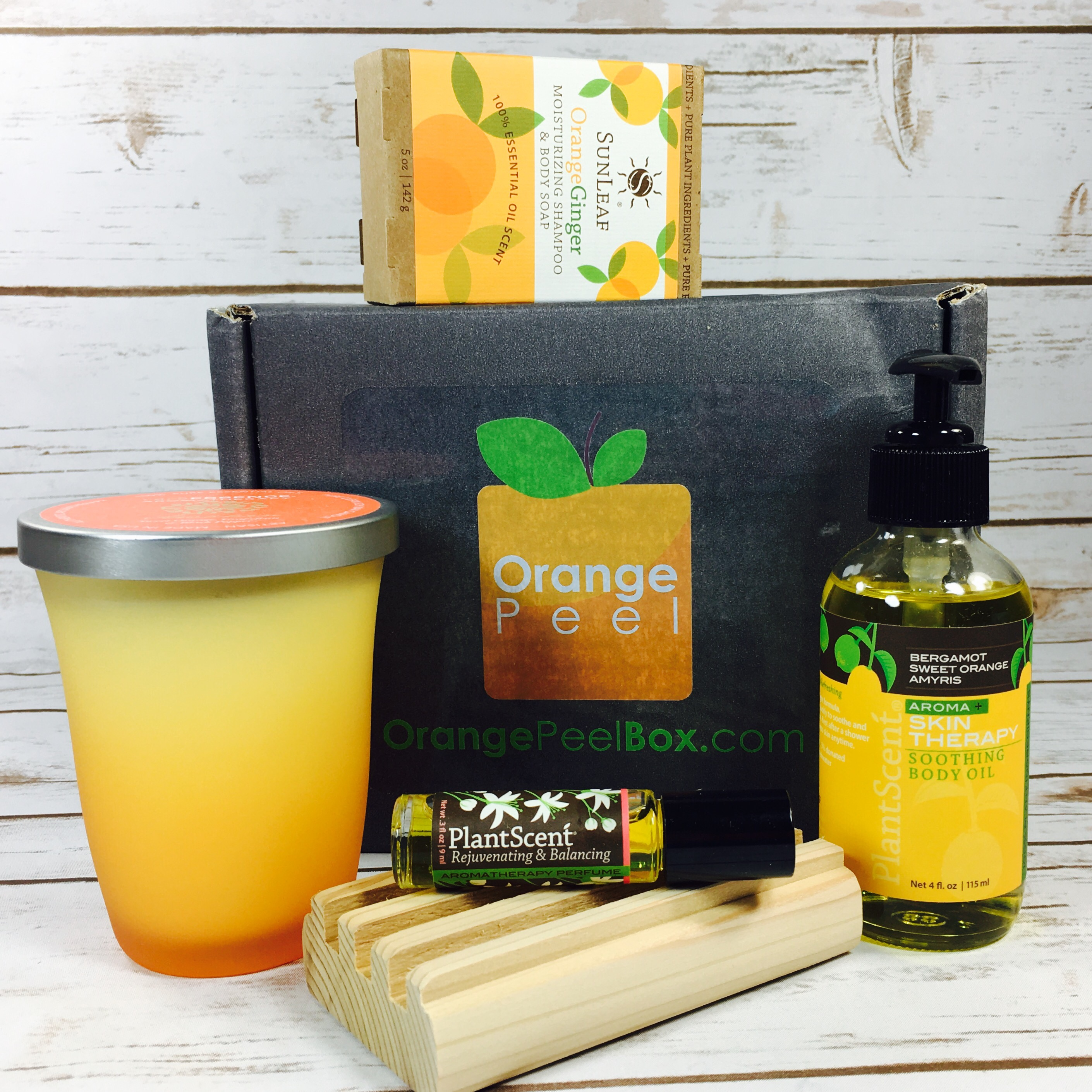 Orange Peel Box Subscription Box Review August 2017