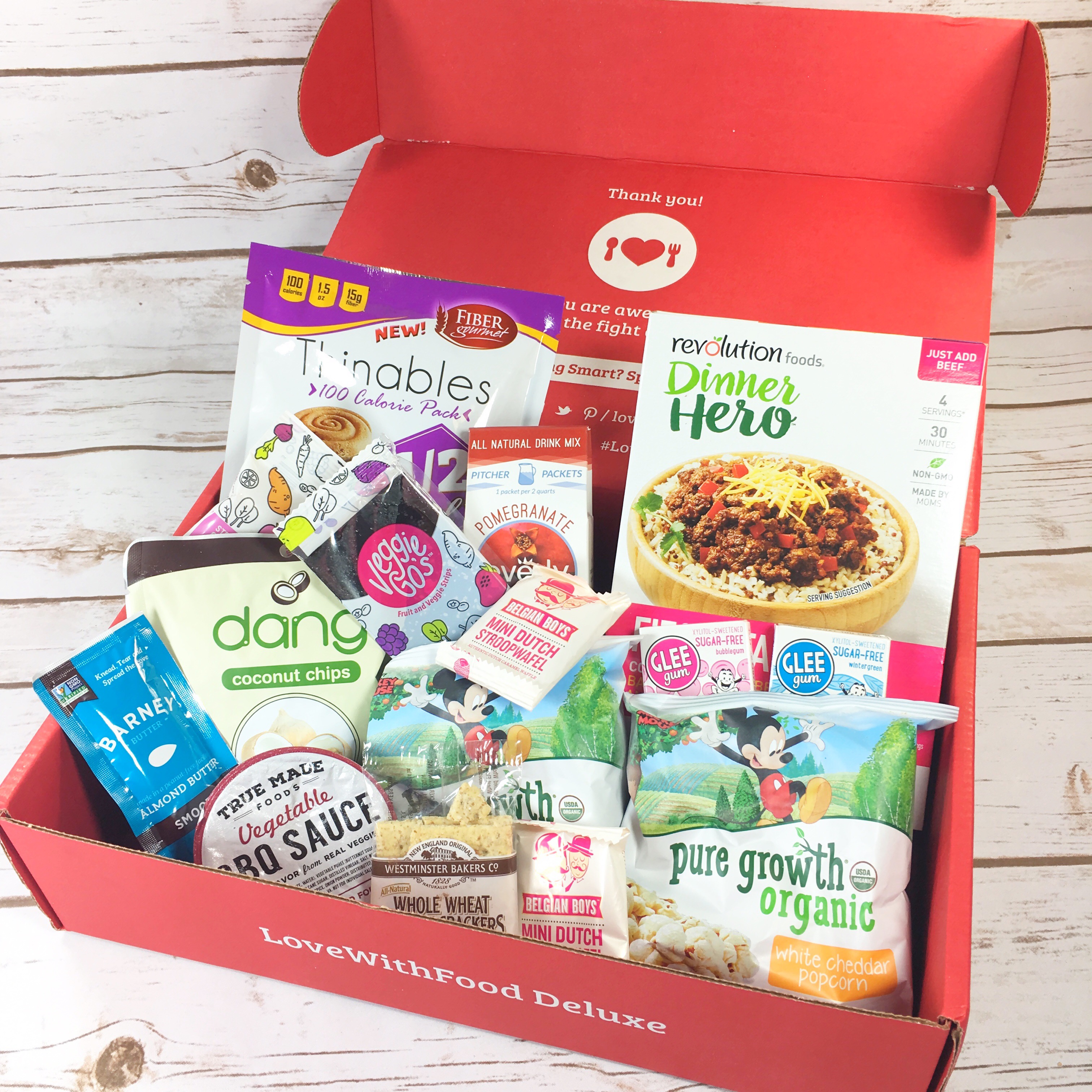 Love With Food August 2017 Deluxe Box Review + Coupon