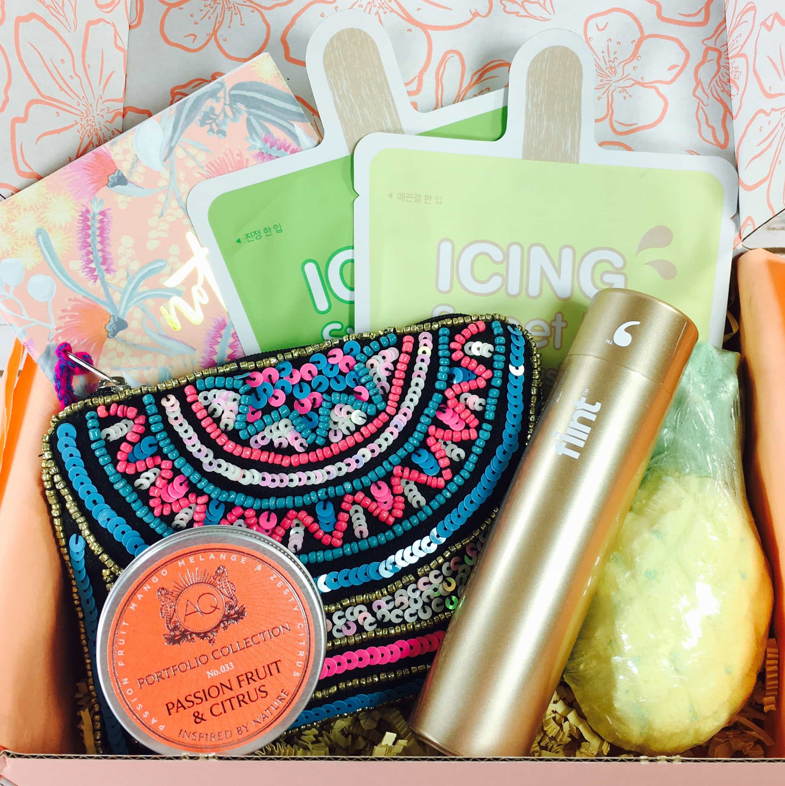 Peachy Box Subscription Box Review + Coupon – August 2017