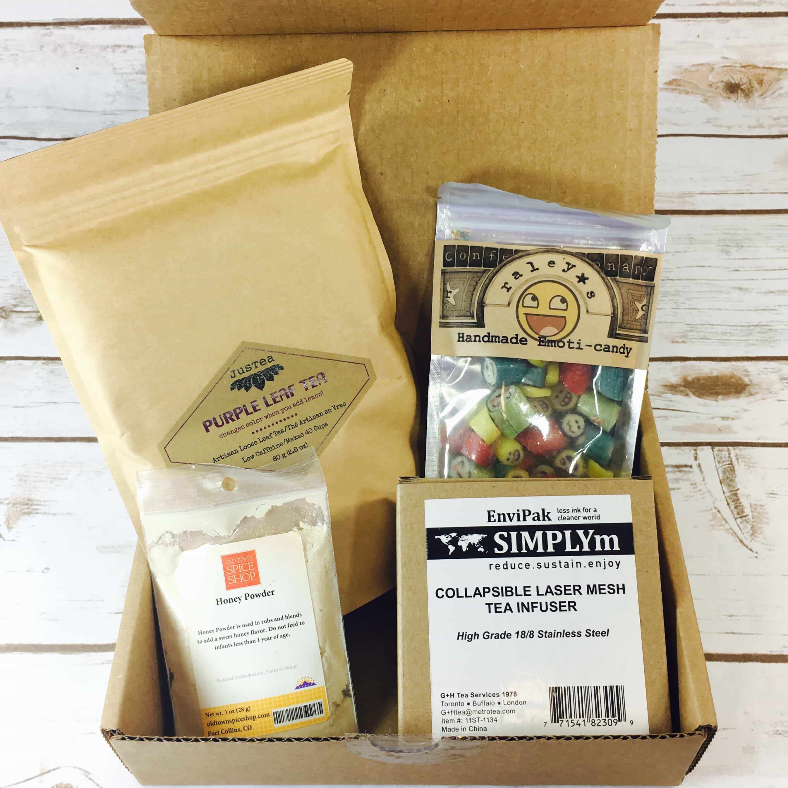 Tea Box Express August 2017 Subscription Review & Coupon