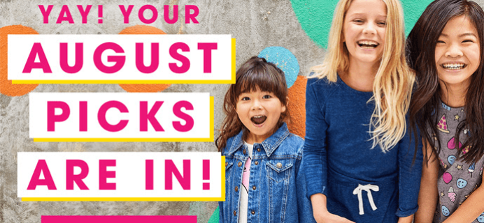 FabKids August 2017 Collection + Coupon!