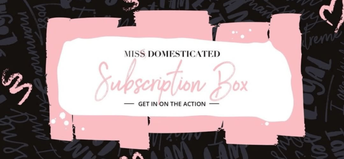 New JWoww Subscription Box – Miss Domesticated Box + July 2017 Full Spoilers!