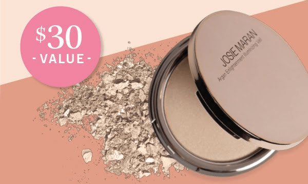 GLOSSYBOX Coupon: FREE Josie Maran Argan Illuminizing Powder!