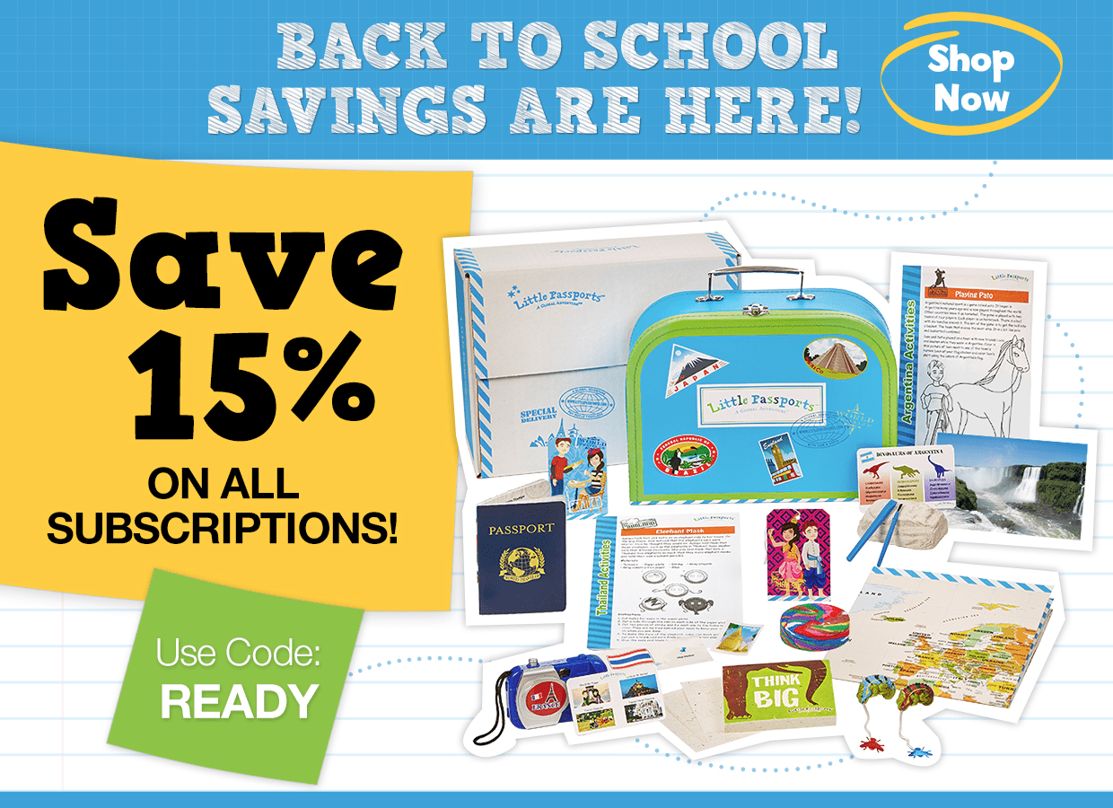 Little Passports Summer Sale: Save 15% On All Subscriptions!