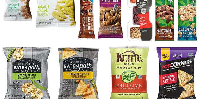 New Amazon Prime FREE After Credit Snack Sample Box!