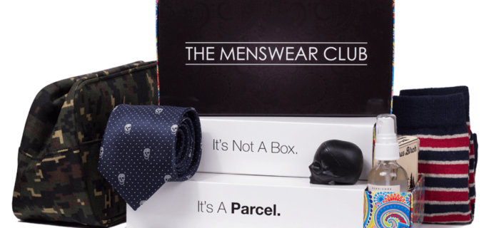 The Menswear Club August 2017 Spoiler + Coupon!