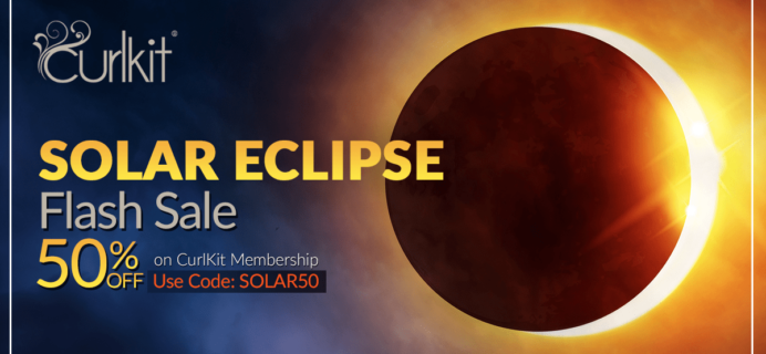 CurlKit Eclipse Day Sale: 50% Off Coupon! Today Only!