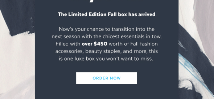 POPSUGAR Must Have Fall 2017 Special Edition Box Full Spoilers