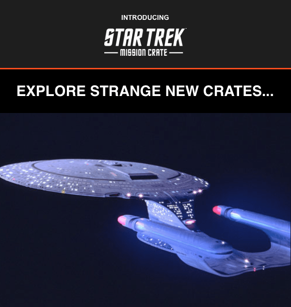 LAST CALL: January 2018 Star Trek: Mission Crate – First Box!