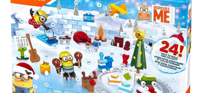 2017 Despicable Me 3 Advent Calendar Available Now!