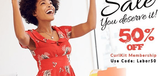 CurlKit Labor Day Sale: 50% Off Coupon!