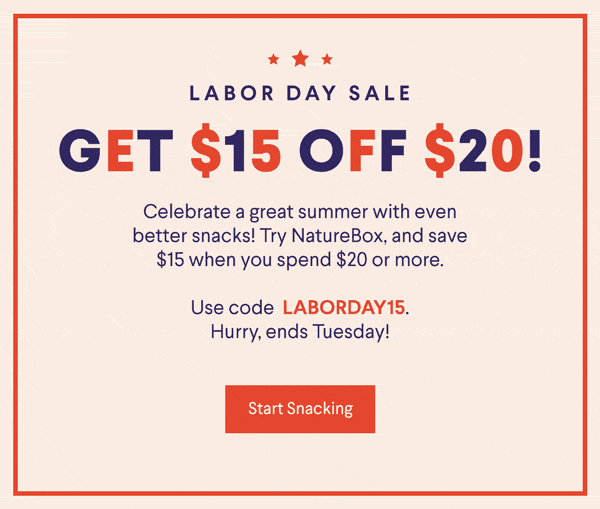 LAST DAY: Naturebox Coupon: Save $15 On First Order!