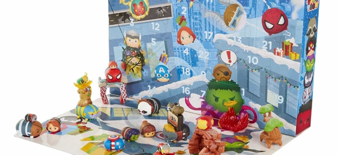 2017 Disney Marvel Tsum Tsum Advent Calendar Available Now!