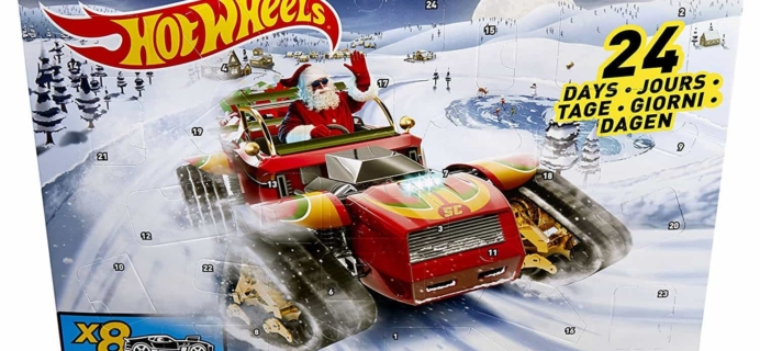2017 Hot Wheels Advent Calendars Available Now!
