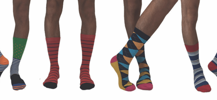 Gentleman's Box Sock of the Month Club Labor Day Deal: First Month $4!