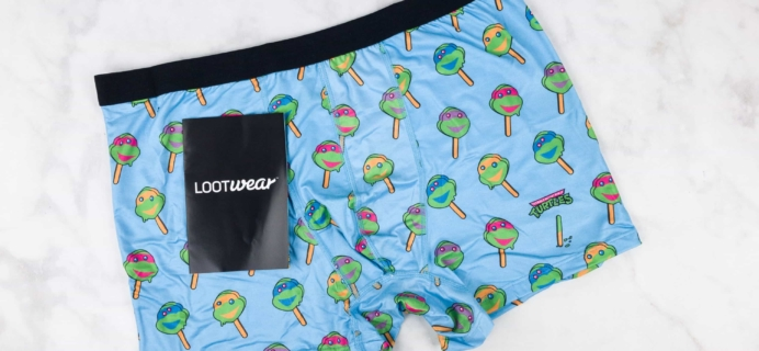 Loot Undies July 2017 Subscription Review + Coupon