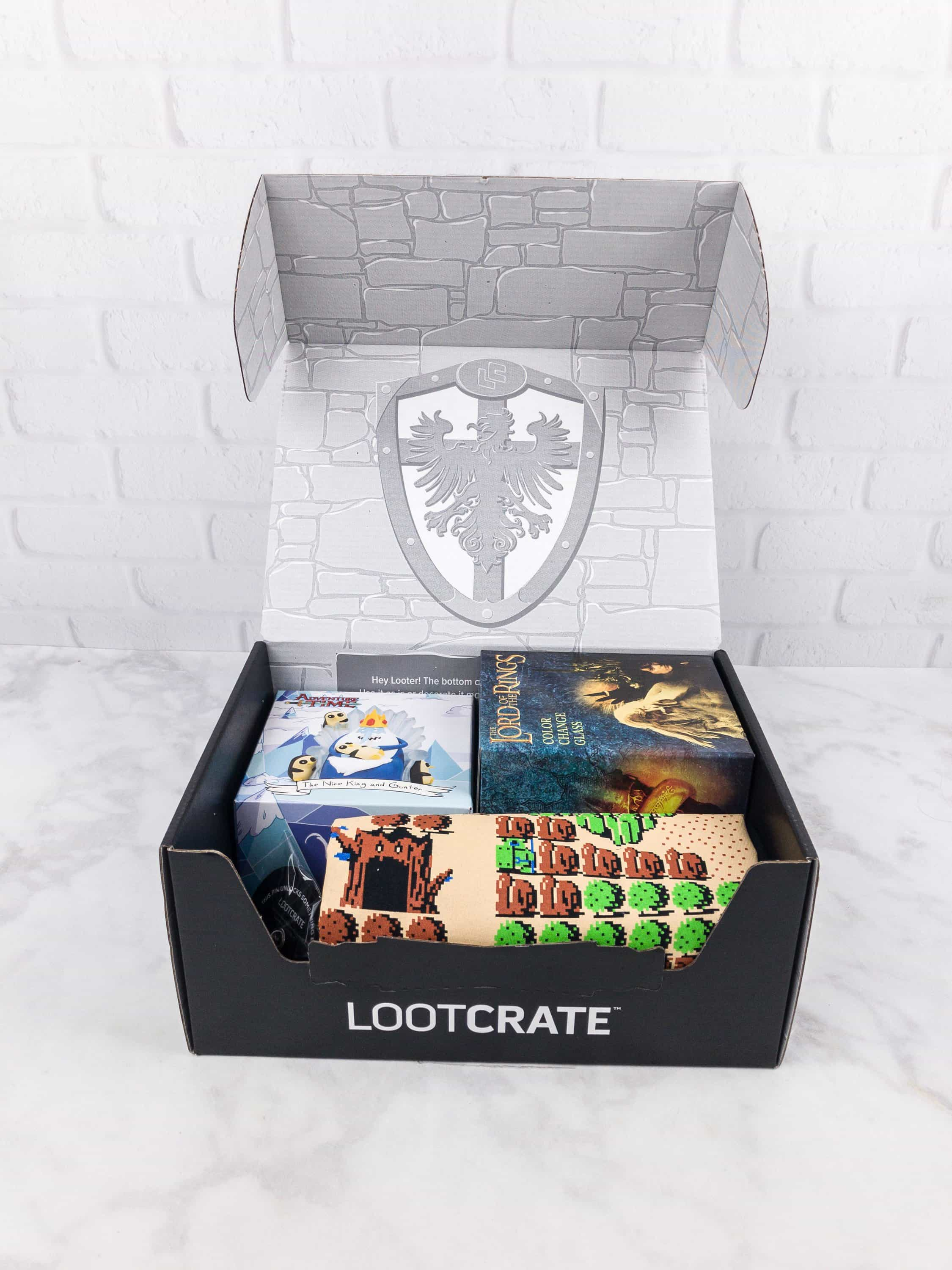 Loot Crate August 2017 Review + Coupons – KINGDOM