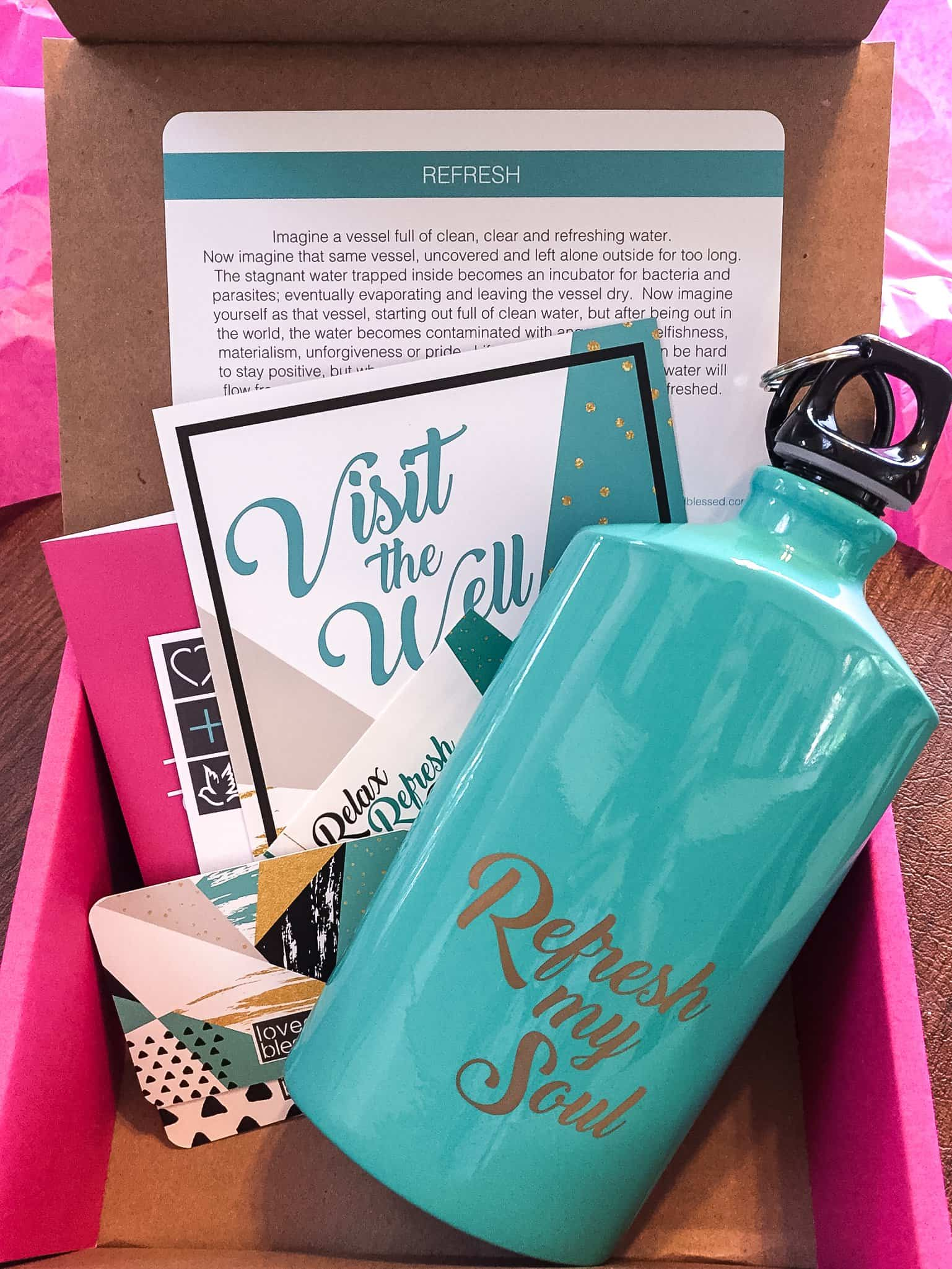Loved+Blessed August 2017 Subscription Box Review + Coupon