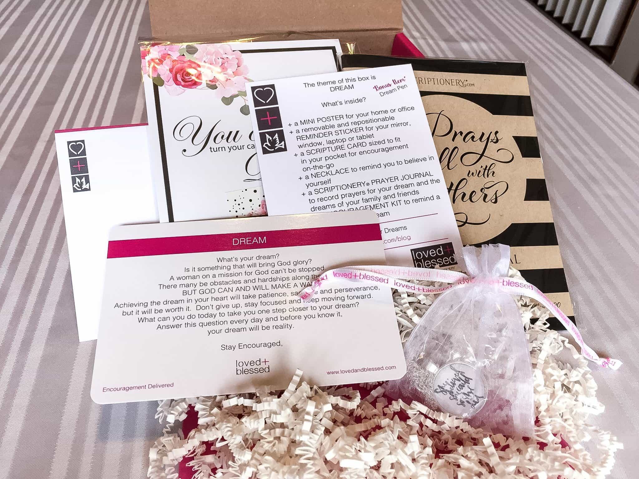 Loved+Blessed September 2017 Subscription Box Review + Coupon