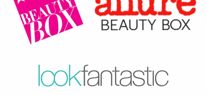 Macy's Beauty Box vs Allure Beauty Box vs Lookfantastic January 2018 Beauty Boxes!