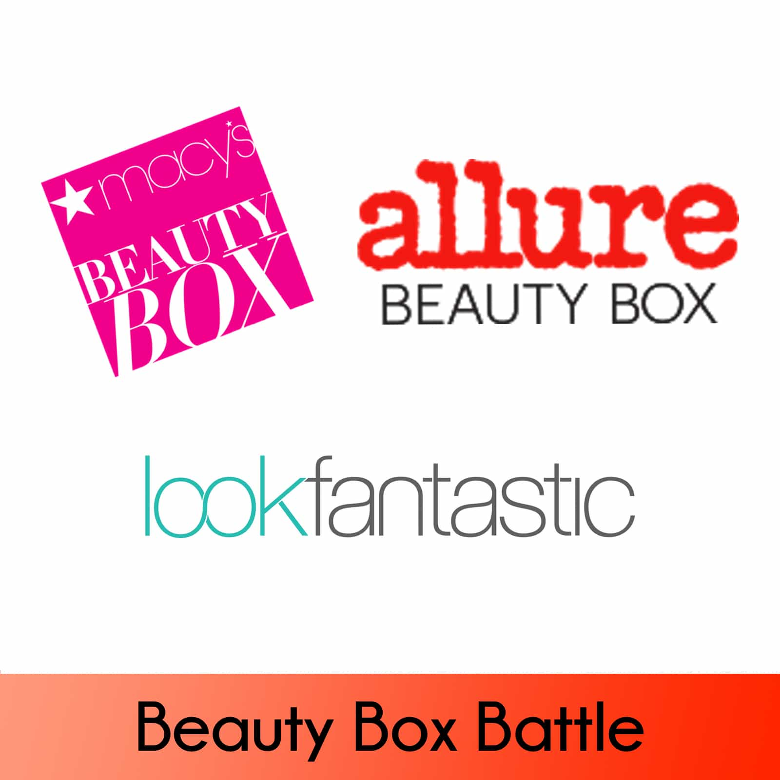 Macy's Beauty Box vs Allure Beauty Box vs Lookfantastic September 2017 Beauty Boxes!