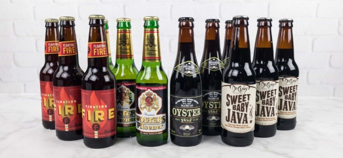 The U.S. and International Variety Beer Club July 2017 Subscription Box Review + Coupons