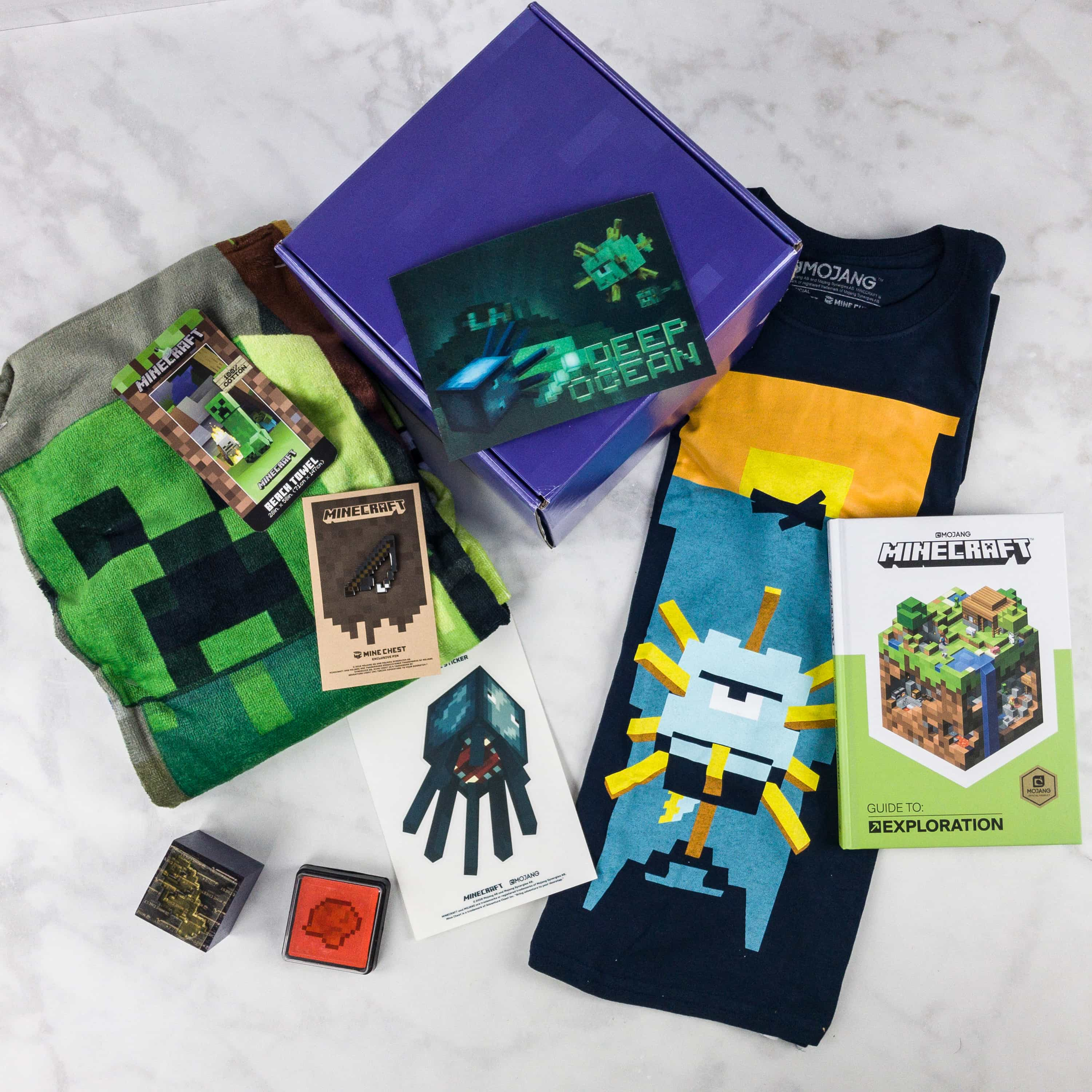 Mine Chest July 2017 Subscription Box Review + Coupon