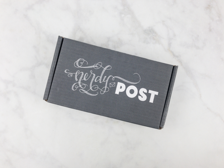 Nerdy Post Is A Subscription That Sends Original Hand Lettered Stationery Posters Prints Stickers And Other Paper Ephemera Around Different Theme