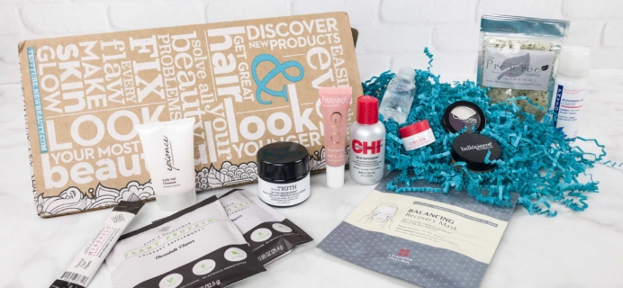 New Beauty Test Tube September 2017 Subscription Box Review + Coupon