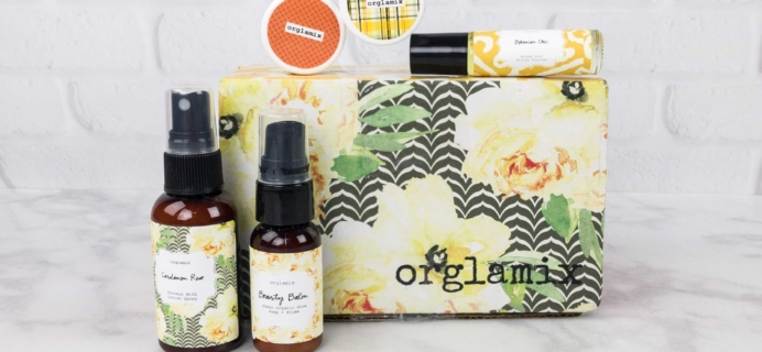 Orglamix August 2017 Subscription Box Review & Coupon