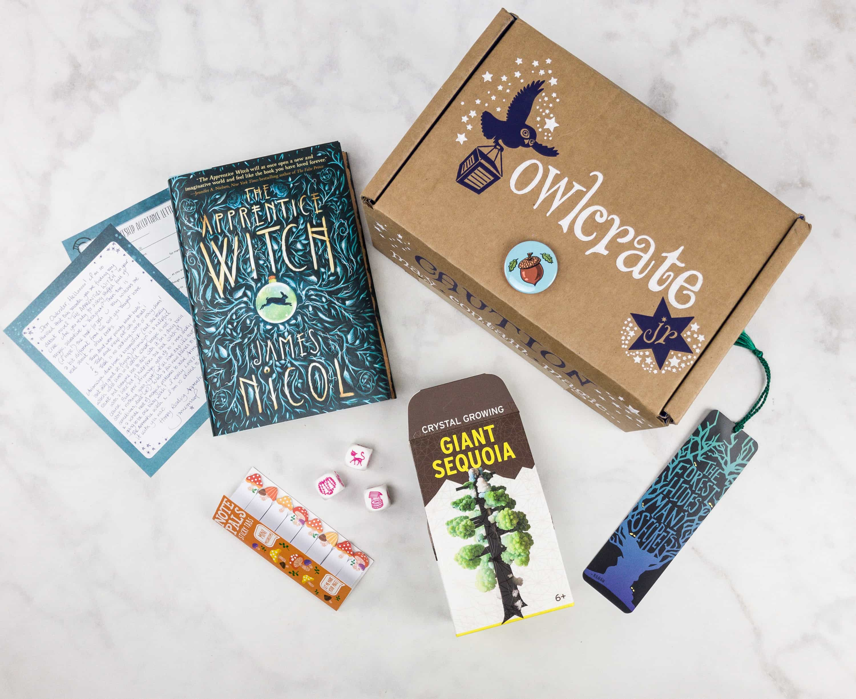 OwlCrate Jr. August 2017 Box Review + Coupon