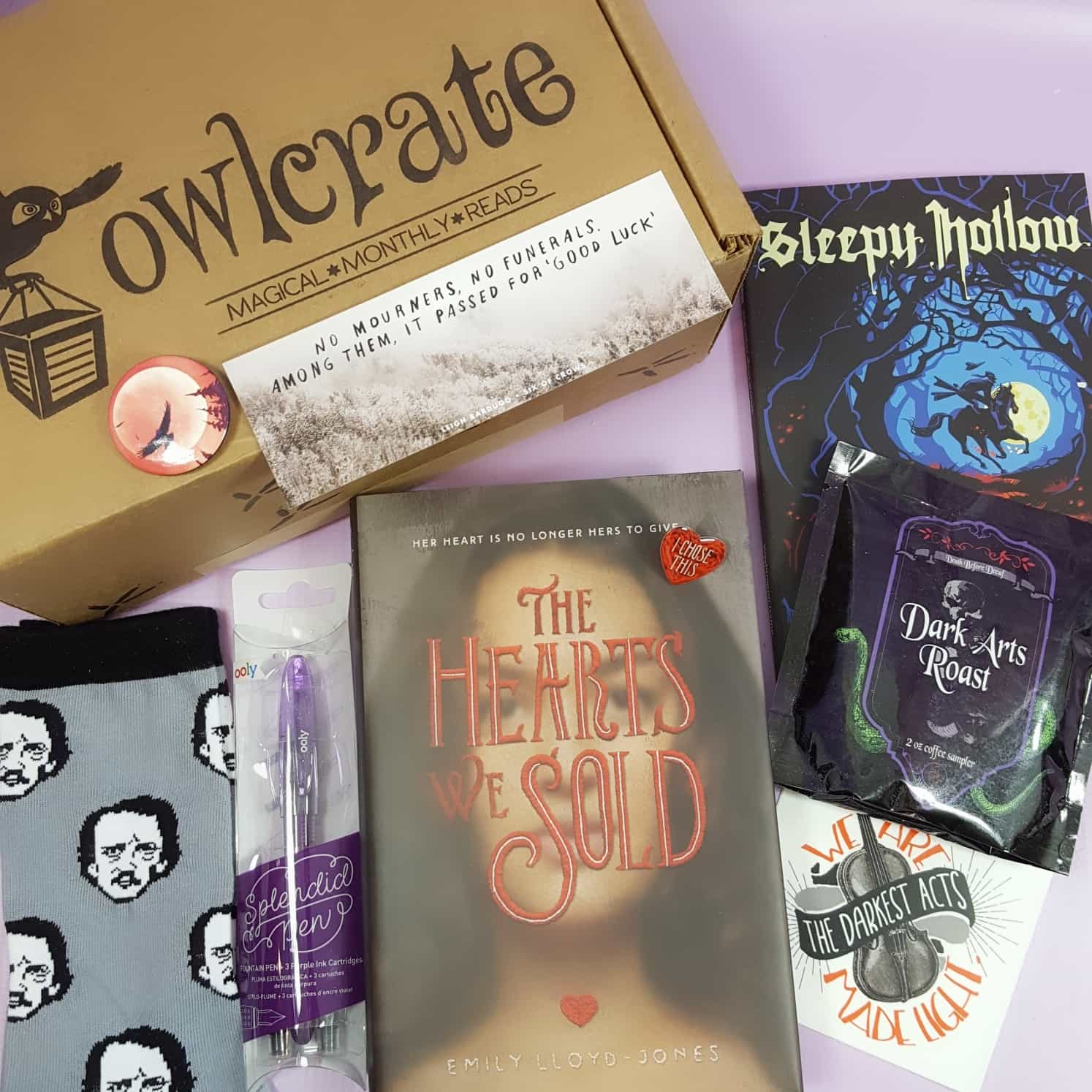 OwlCrate August 2017 Subscription Box Review + Coupon