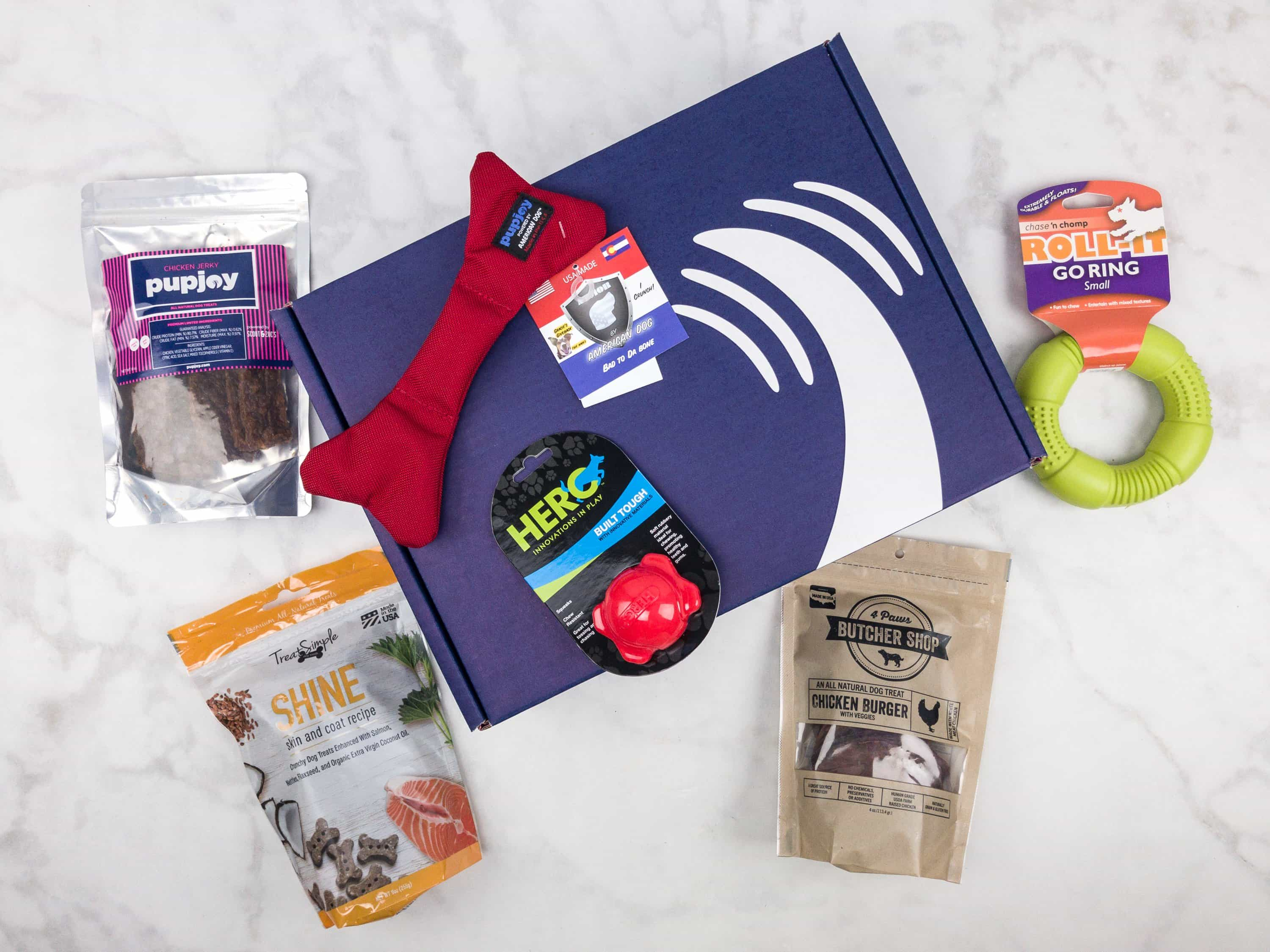 PupJoy August 2017 Subscription Box Review + Coupon