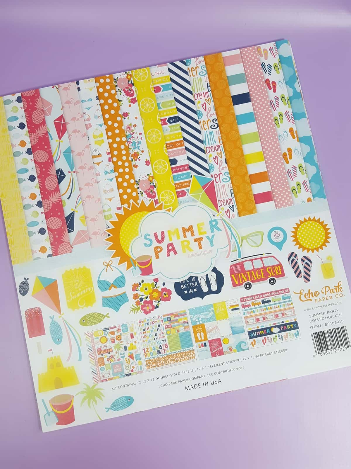 Scrapbooking Store July 2017 Subscription Box Review Hello