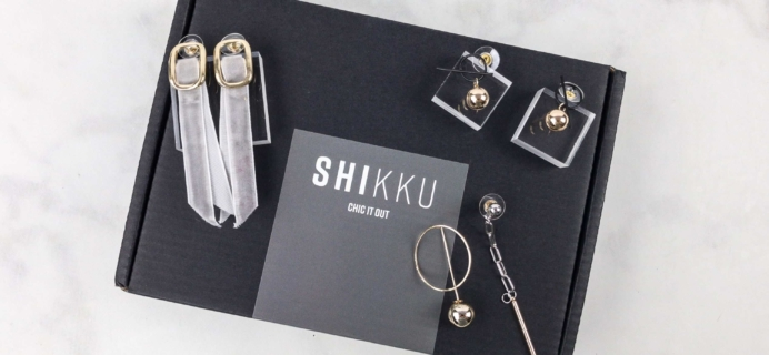 SHIKKU August 2017 Subscription Box Review + Coupon