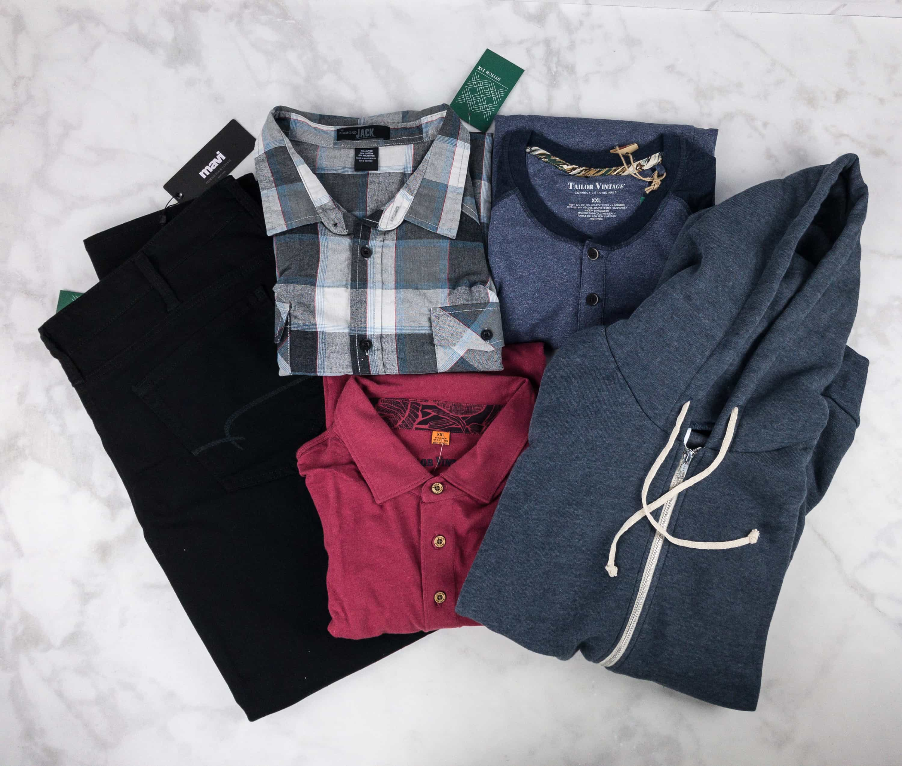 Stitch Fix Men August 2017 Review