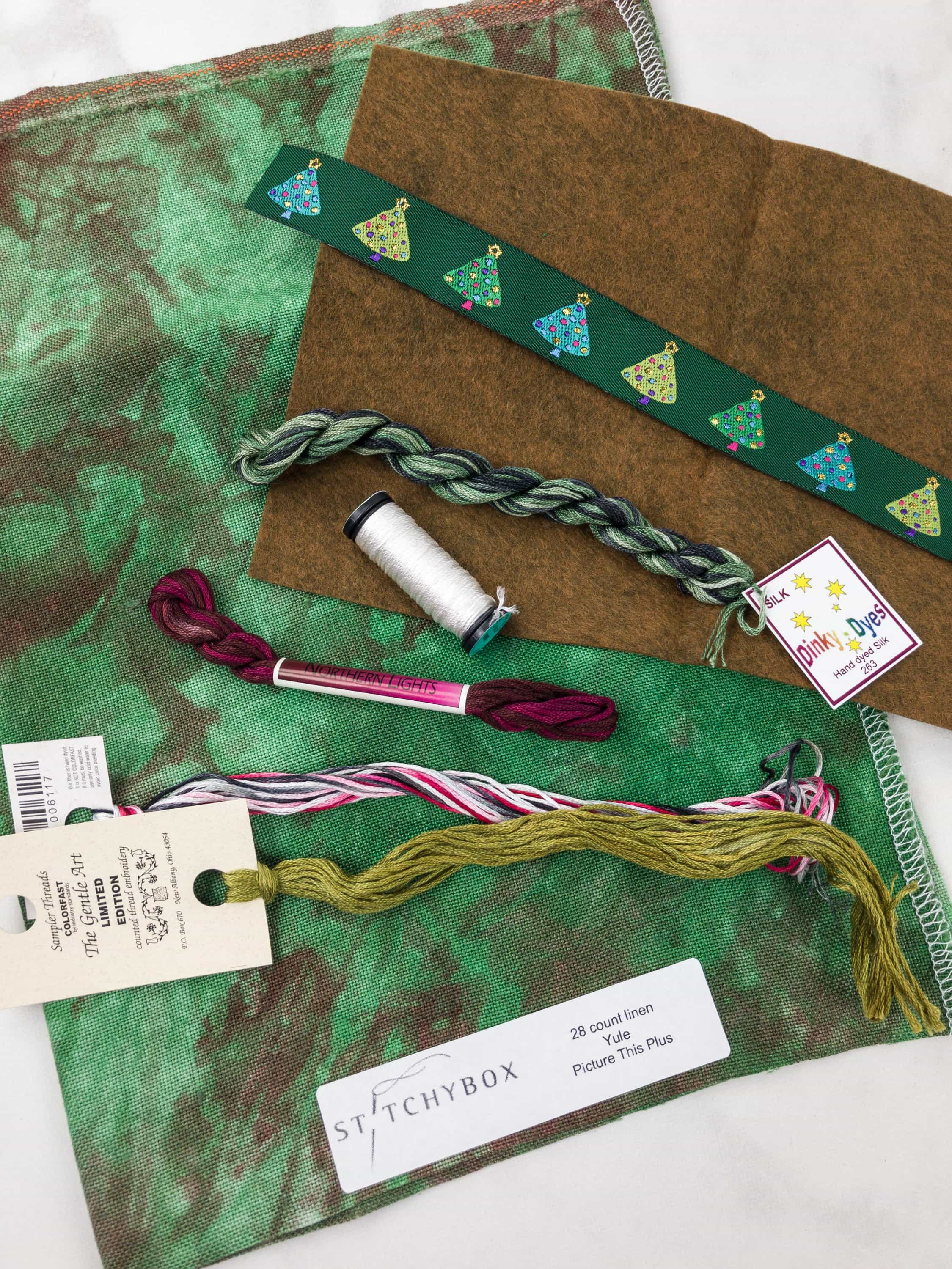 Stitchy Box July-August  2017 Subscription Box Review