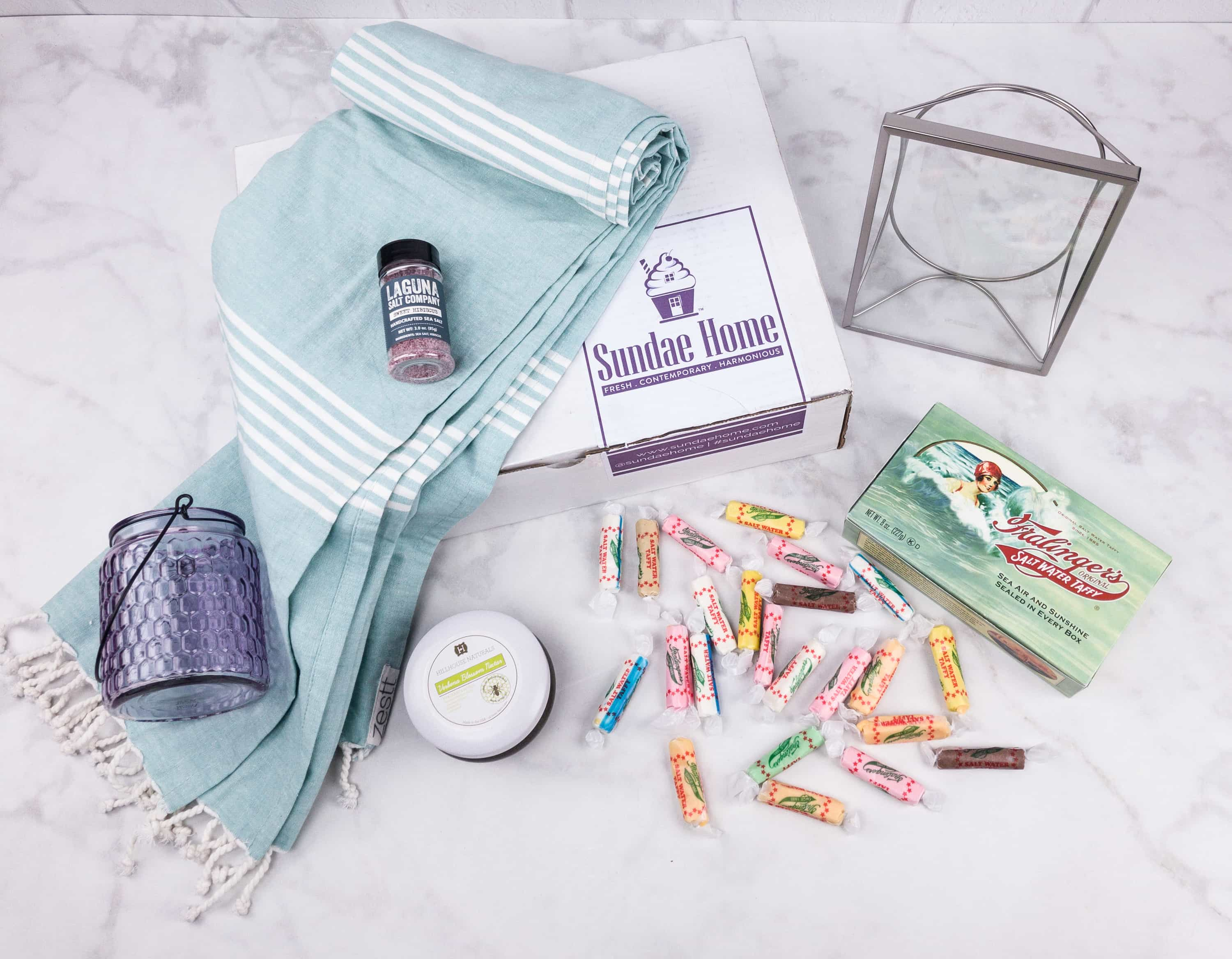 Sundae Home August 2017 Subscription Box Review + Coupon!