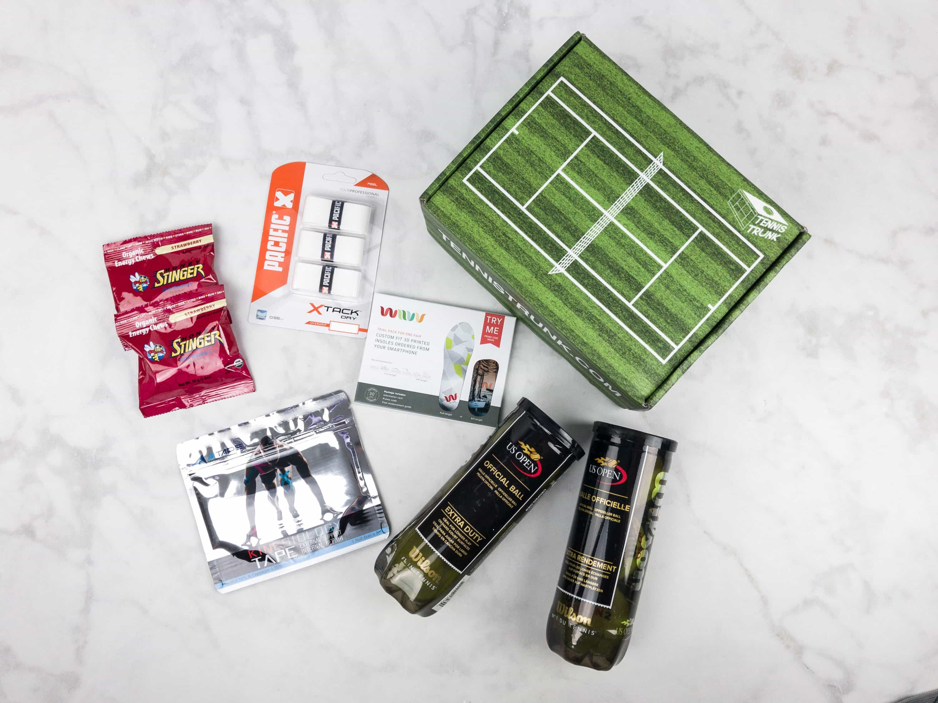 Tennis Trunk August 2017 Subscription Box Review & Coupon