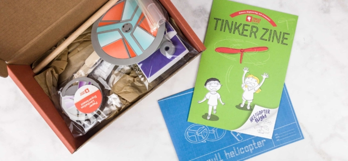 Tinker Crate July 2017 Review & Coupon – HELICOPTER FLIGHT!