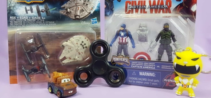Toy Box Monthly August 2017 Subscription Box Review