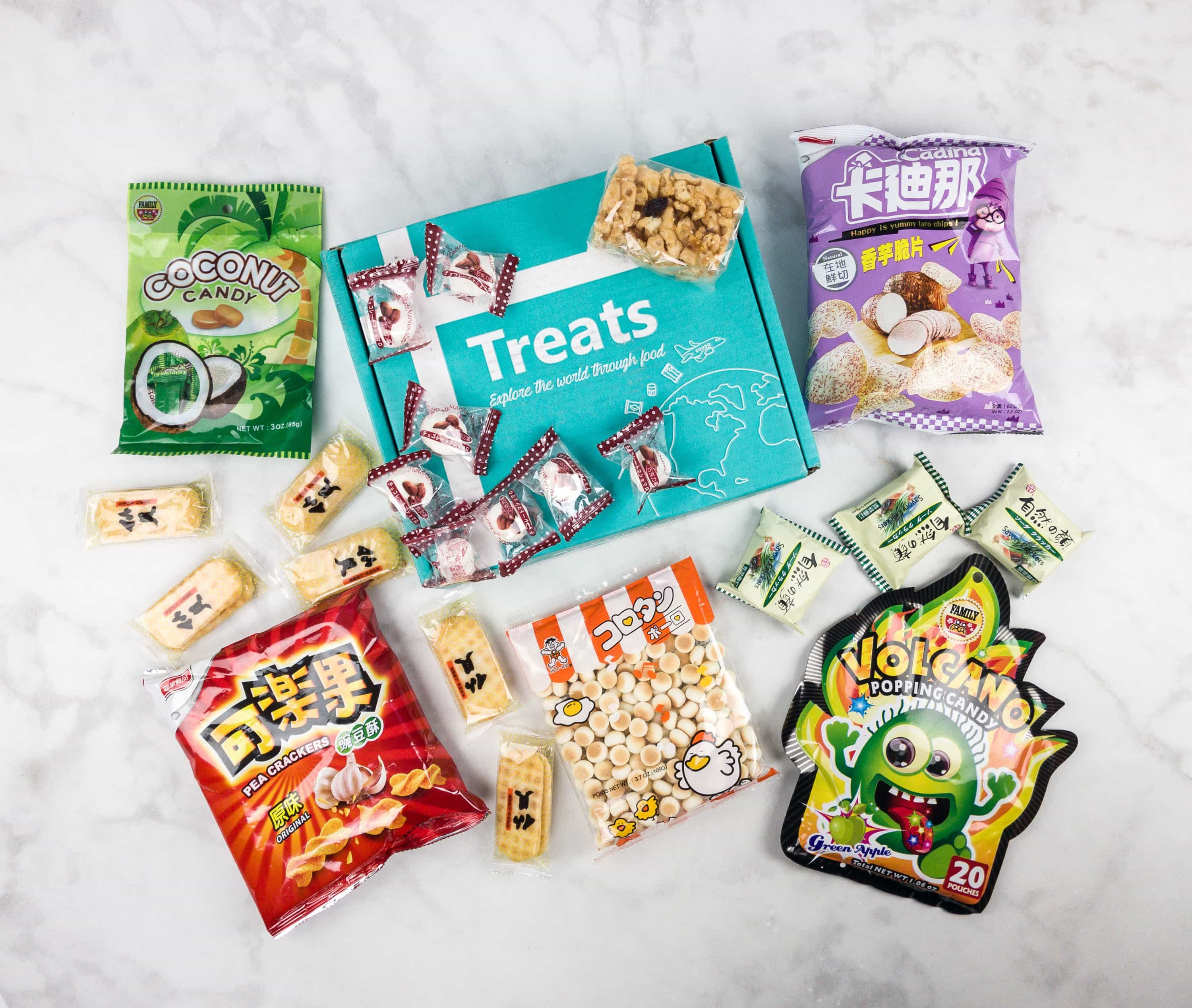 Treats Box August 2017 Review & Coupon – Taiwan!