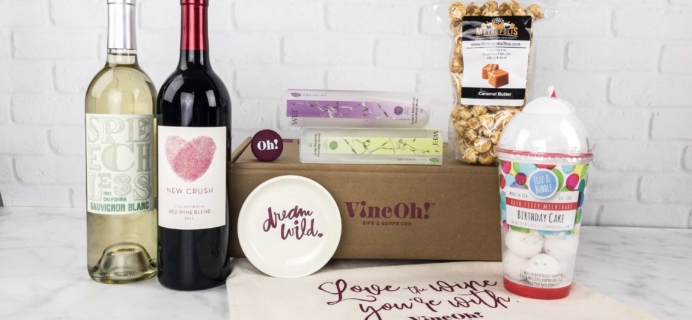 Vine Oh! Fall 2017 Subscription Box Review + Coupon